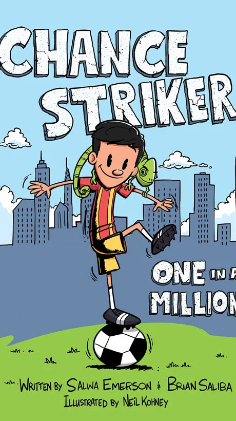 chance striker book cover